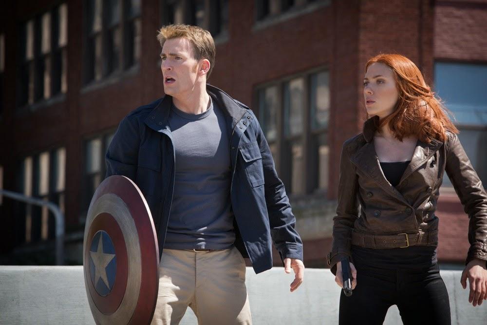 Captain America Winter Soldier Cap Vedova Nera