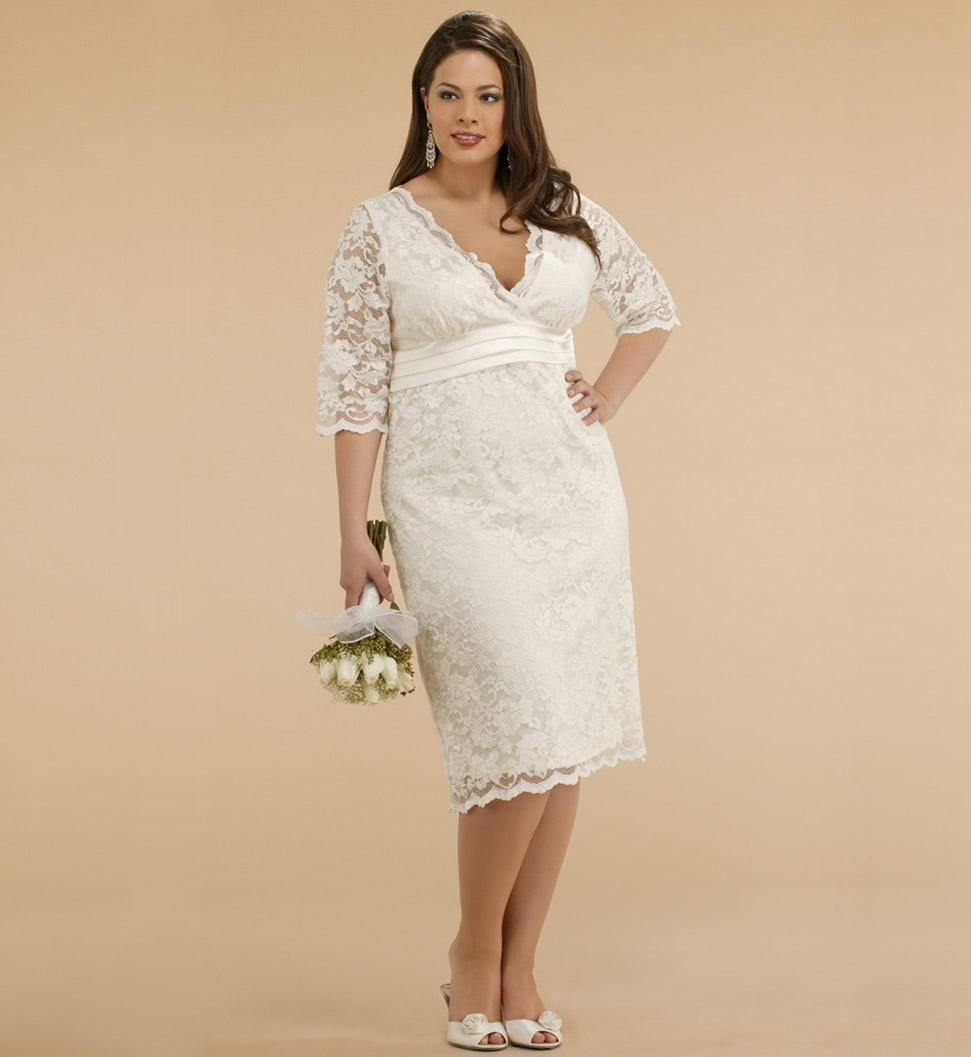 Plus Size Wedding Dresses Online Usa