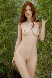 Mia+Sollis+Wild+Beauty+Outdoor+Nude+www.CelebTiger.com+12 Redhead Beauty Mia Sollis Is Naked & Enjoying Herself Photos