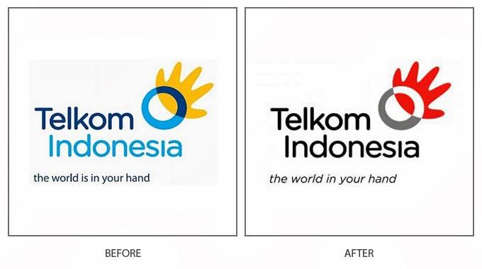 logo baru telkom komitmen bagi negeri bitebrands