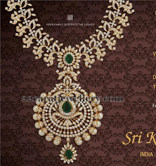 Chic Diamond Set by Srikrishna Jewellers