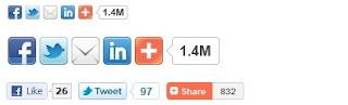 addthis social bokomark widget