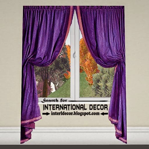 largest catalog of purple curtains and drapes, lilac curtains, modern tie back curtains for windows