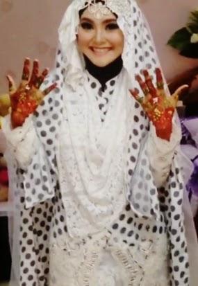 Caisar 'YKS' Menikah, Ini Foto Inda Istrinya. Cantik !