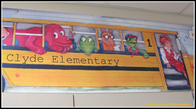 photo of: Kindergarten Painted Wall Mural