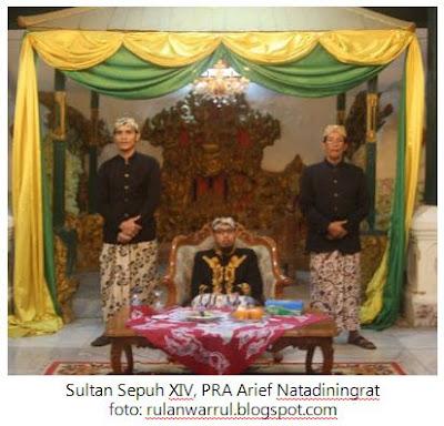 Sultan Sepuh XIV, PRA Arief Natadiningrat,Cirebon