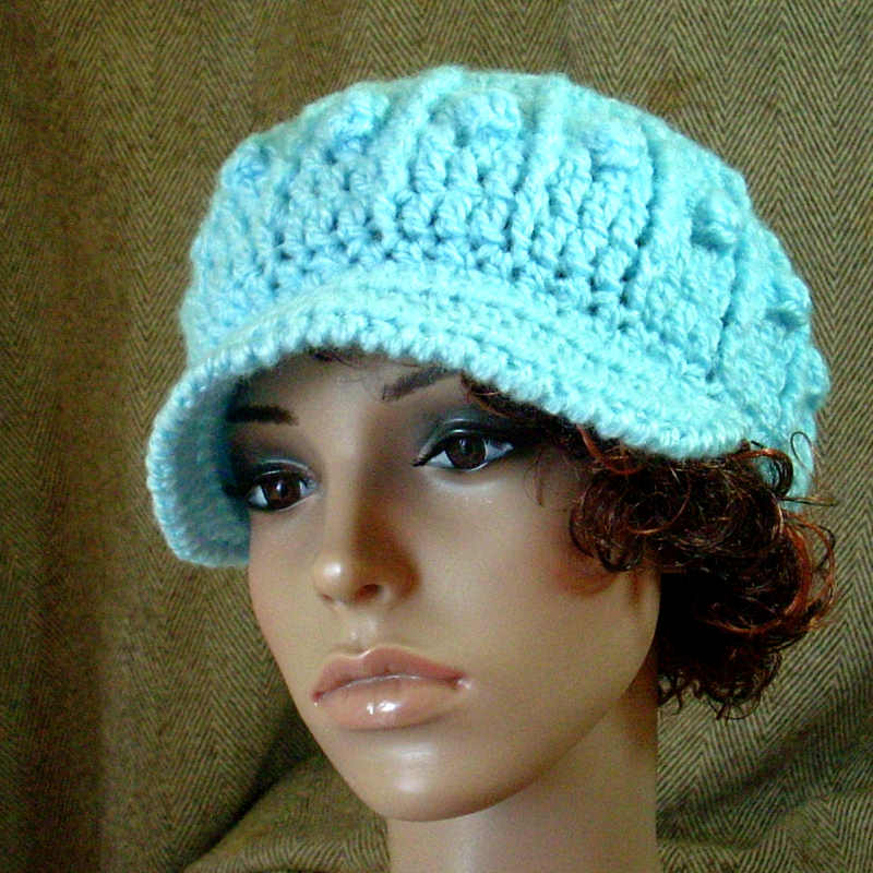 Crochet Models : crochet hat patterns model