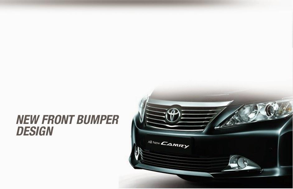 eksterior Camry mobil hybrid di indonesia