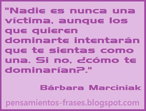 frases de Bárbara Marciniak