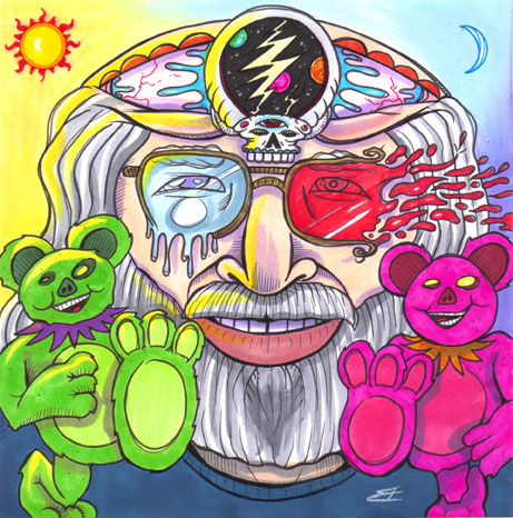 A Touch Of Grey Jerry Garcia In Memoriam