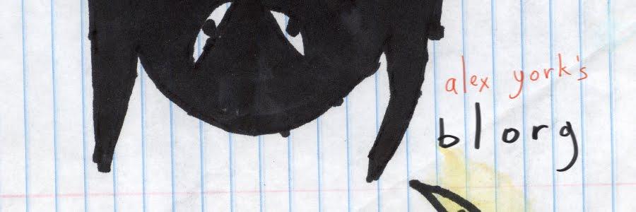 Alex York's Art & Animation Blog