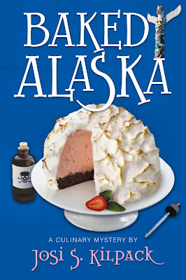 Baked Alaska mystery book review.  Full of fun recipes and a fun clean mystery. Alohamora http://alohamoraopenabook.blogspot.com