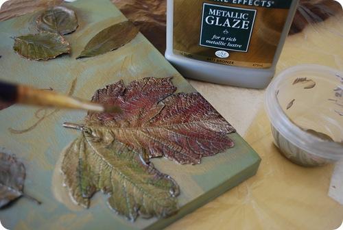 Ideas de oto o dise os con hojas secas la salamandra - Cuadros para pintar en casa ...