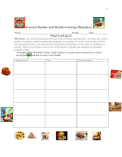 Comprehension & Writing Activity