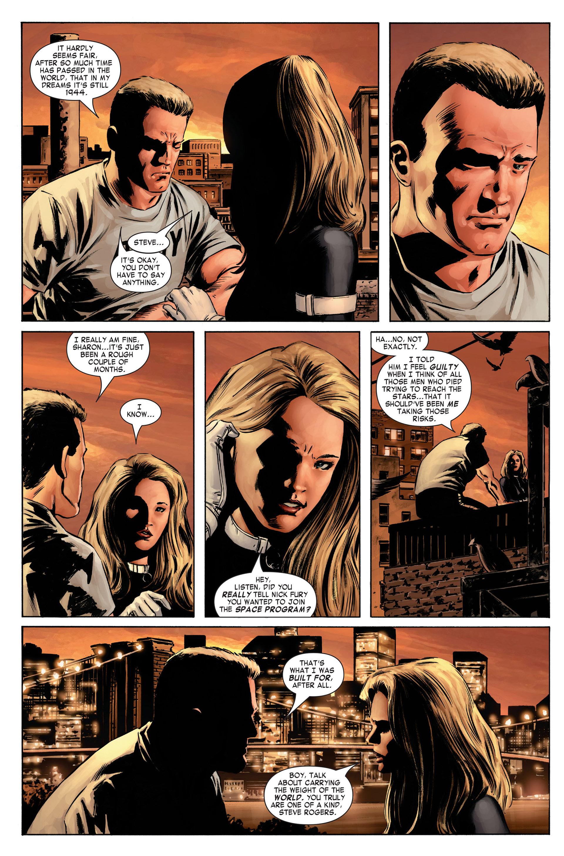 Captain America (2005) Issue #1 #1 - English 21