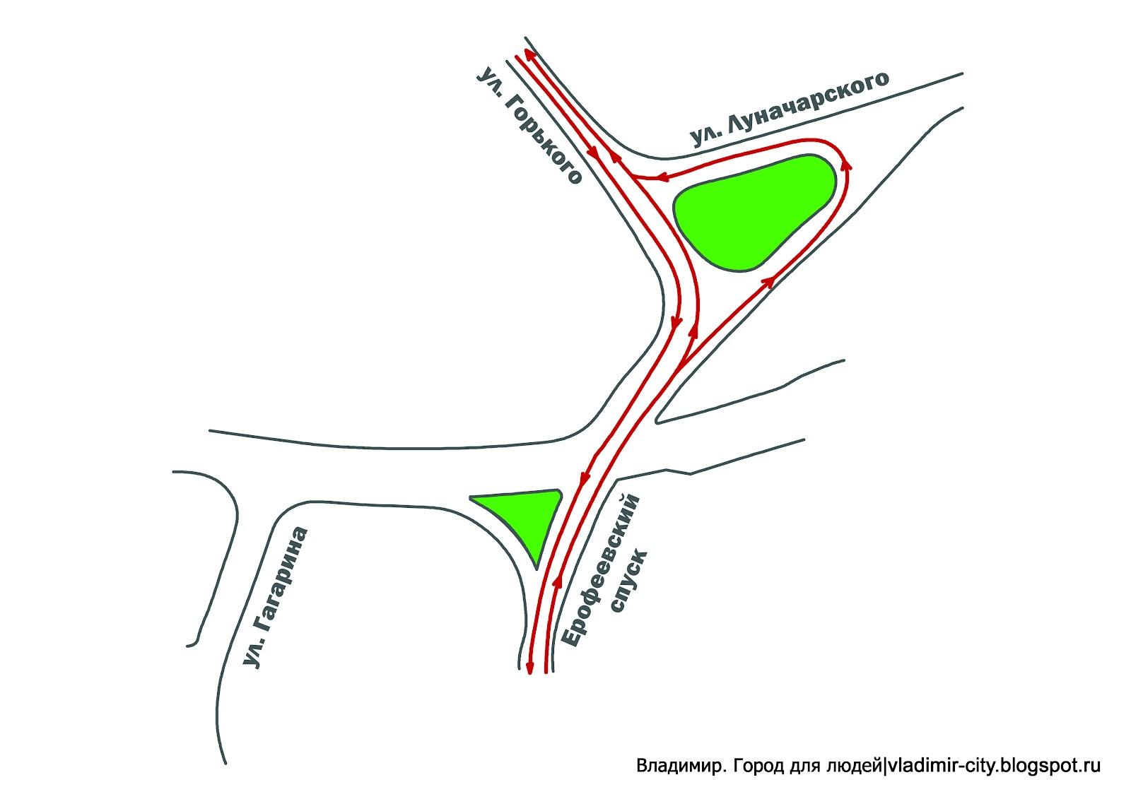 схема маршрут автобусов во владимире