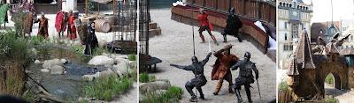 Efteling theme park, Raveleijn, Efteling Rides