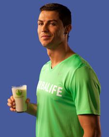 Herbalife Patrocinador Oficial de Nutrición de Cristiano Ronaldo