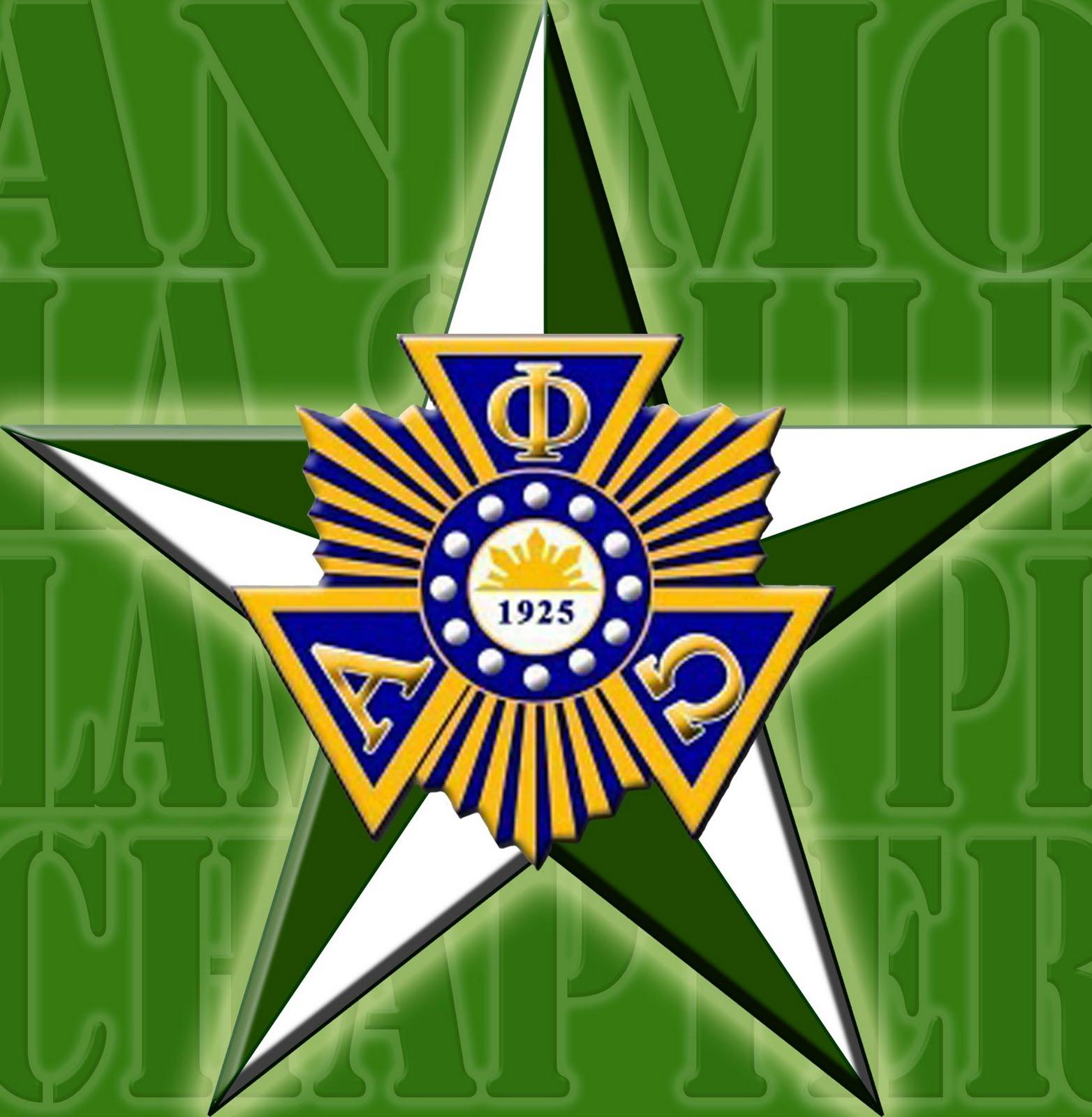 Lambda Pi Lasallian Logo Alpha Phi Omega Lambda Pi
