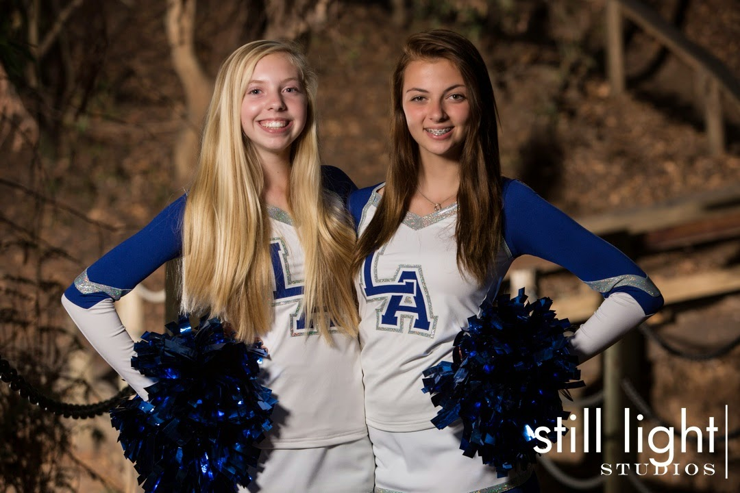 Los Altos High School Cheer Team Photo by Still Light Studios, School Sports and Senior Photography in Bay Area, cinematic, nature, cheerleaders