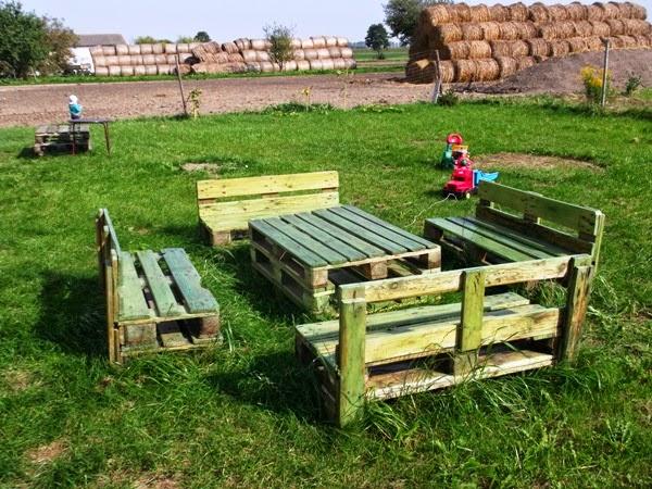 zestaw mebli ogrodowych z palet zestaw mebli ogrodowych z palet