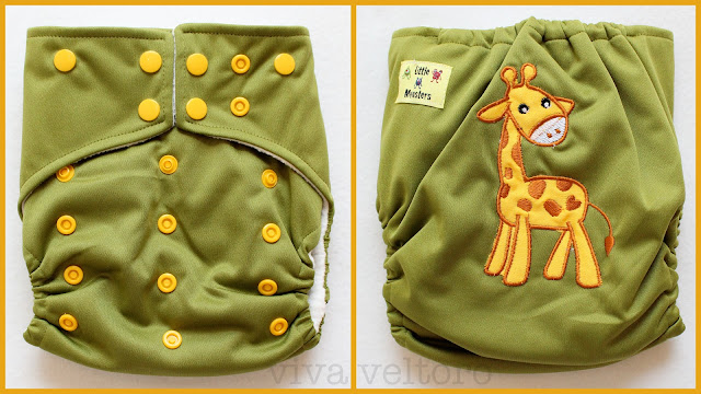 Little Monsters Cloth Diapers