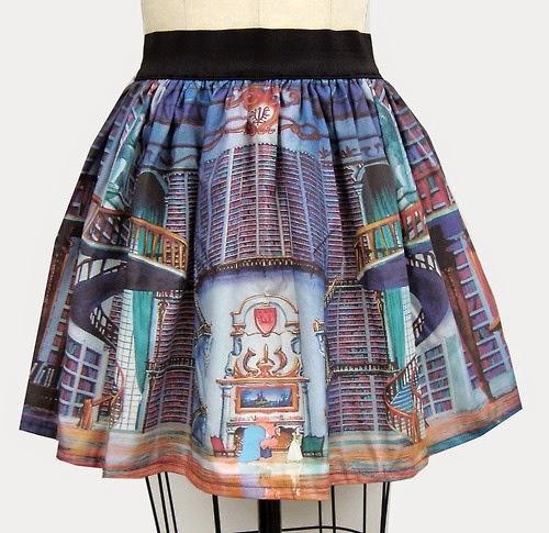 Beast's library skirt