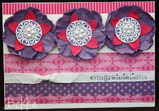 Artistic Etchings Flower Card