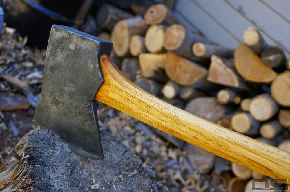 custom hung axe handle