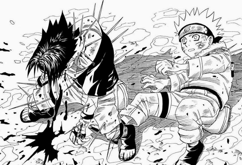 [Manga] Naruto Vs Fairy Tail Vs Bleach Vs Toriko Sasuke+Pincushion