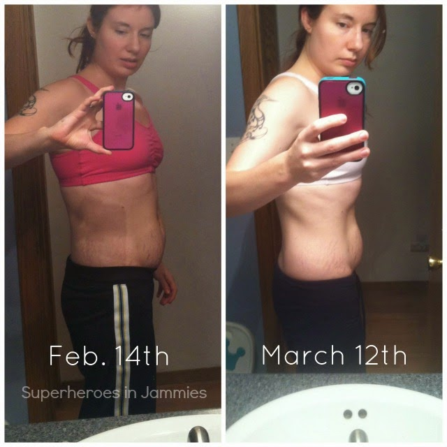 30 Day Shred Results