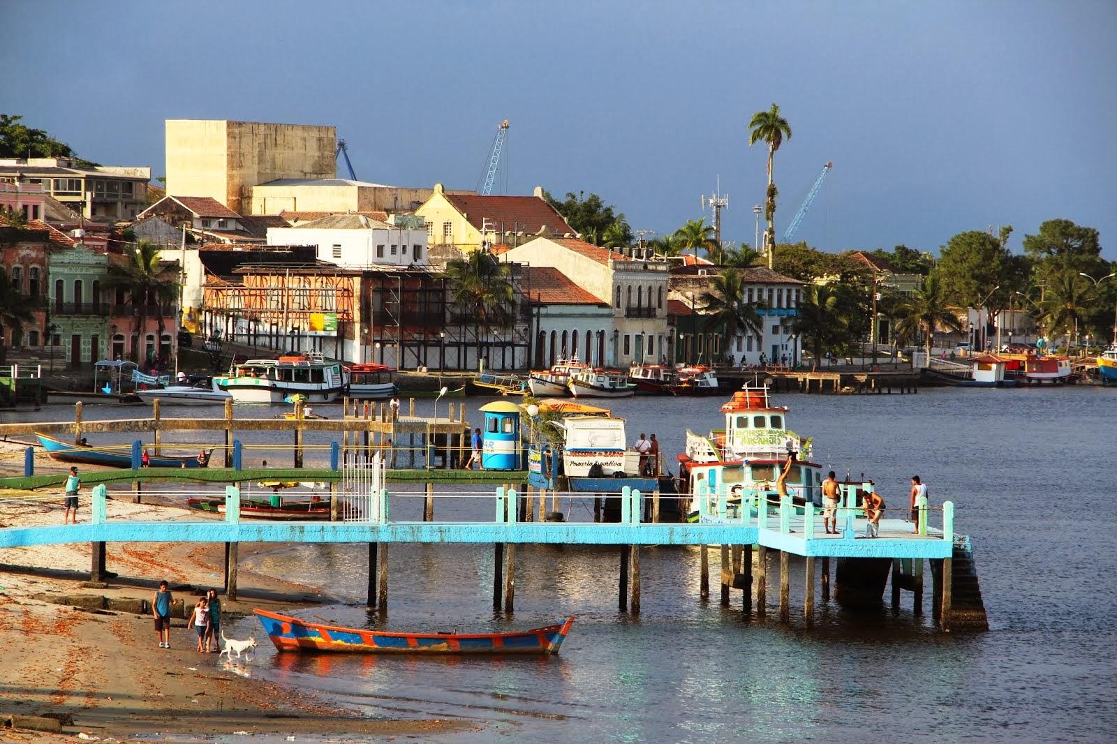 A vista da cidade de Paranaguá!