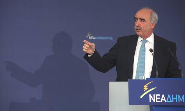 ΒΟΜΒΑ: ''Δεν είναι αρχηγός της Νέας Δημοκρατίας ο Μεϊμαράκης''!