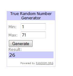 Winner ReFashion giveaway