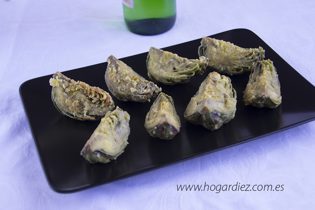 Alcachofas rebozadas con Chef o Matic Pro