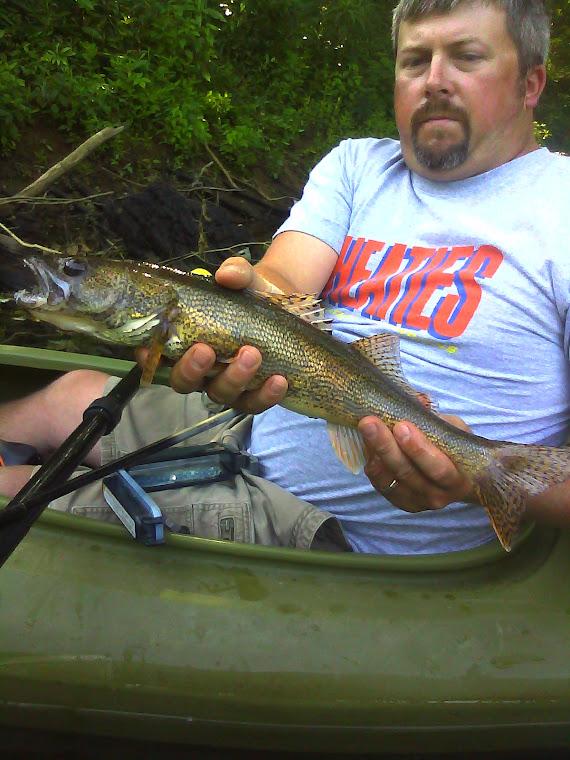 Canoe kayak ohio the little raccoon creek oh for Fishing in ohio