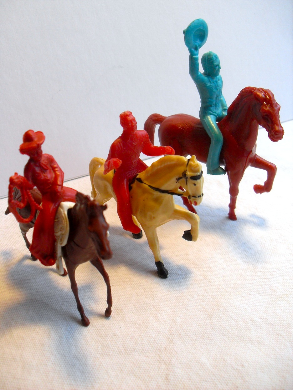 Old Toys From The 1960 : Art skool damage christian montone pocket sized fun