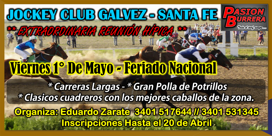 Galvez - 1° de mayo