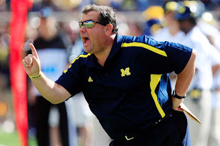 Brady Hoke has a potty mouth, says Michigan had a s****y season in 2012.