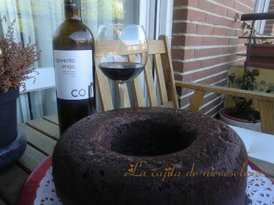 Bizcocho Al Vino Tinto