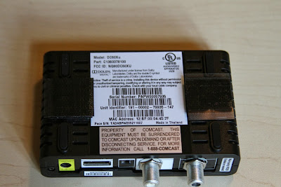 Comcast Xfinity Hd Udta Pace Dc60xu Unboxing And Setup