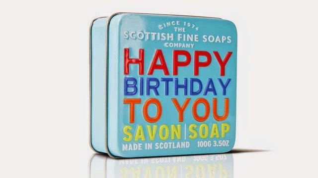 Jabón en Lata Feliz Cumpleaños