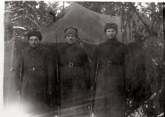 Фото зимний солдат