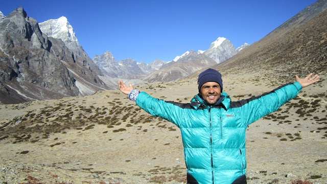 Happiest trekking guide in Nepal