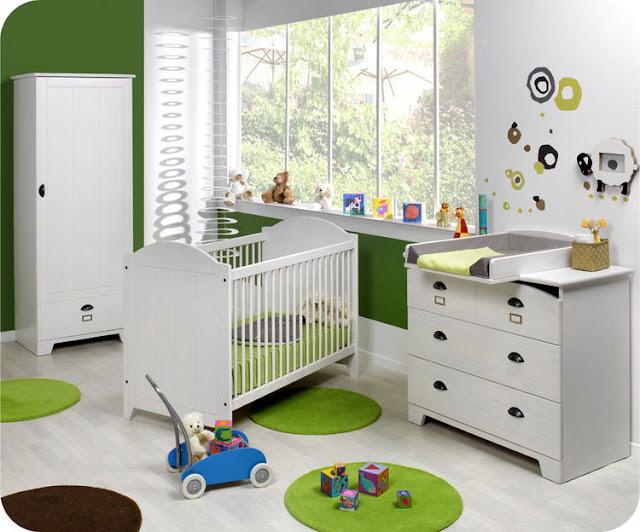 Idee Deco Chambre Garcon Vintage : Rideau Chambre Bebe Garcon  chambre de bébé moderne idées déco