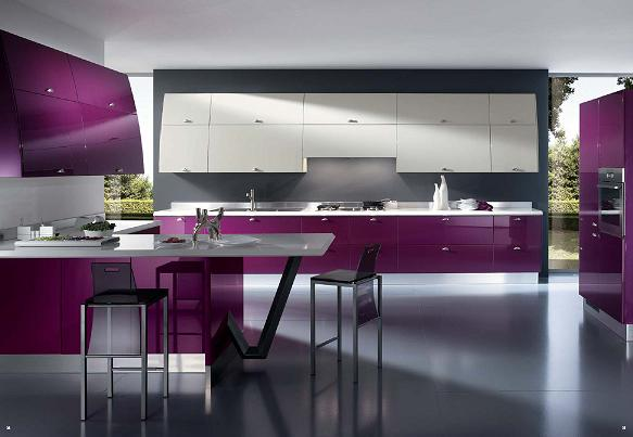 New designs and decorations featured Italian kitchens latest ...
