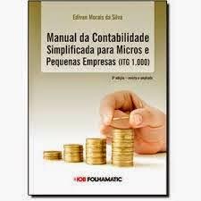 Manual de Contabilidade Simplificada para Micro e Pequenas Empresas 5º Edição