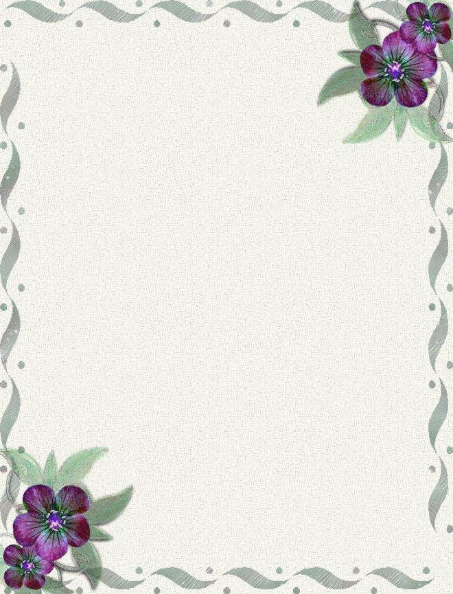 Ilustracoes Pap 233 Is De Carta Com Flores