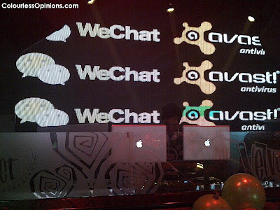 WeChat & Avast launch in Zouk KL Malaysia