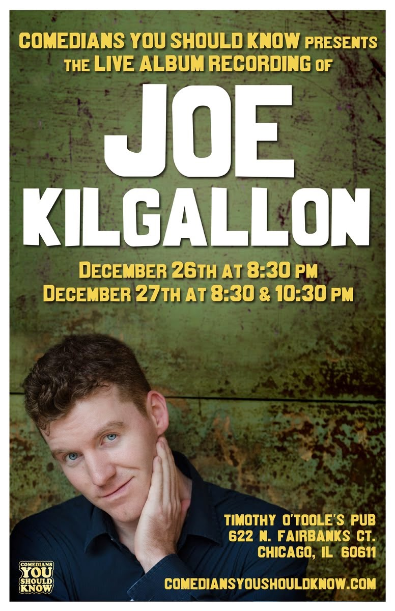 CYSK Presents: Joe Kilgallon
